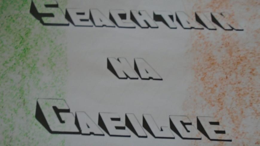 Seachtain na Gaeilge………………..