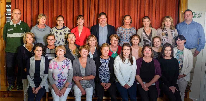 scoil mhuire 2016-2017 staff