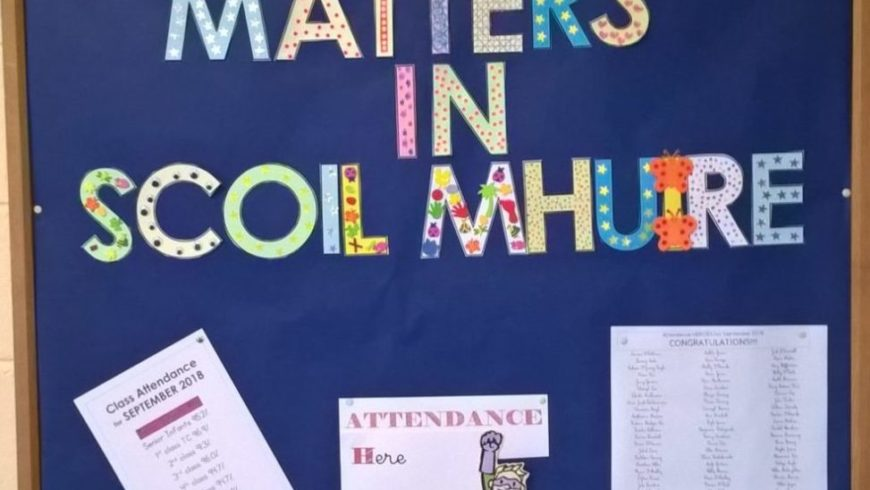 ATTENDANCE MATTERS IN SCOIL MHUIRE!